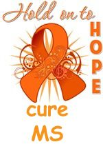 Multiple Sclerosis idea.  Without all the lettering just ribbon and scrollwork.