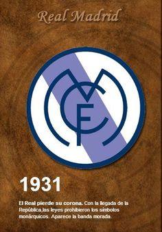 Historia Escudo Oficial Real Madrid. (Marca, España)