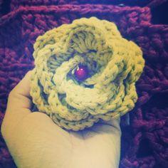 Flor em croché 🌻🌼🌻
