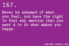 Everyone is entitled to their feelings..