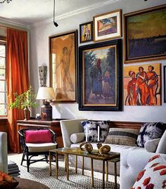 Eclectic Living Room, Living Room Colors, Living Rooms, Interior Design Tips, Interior Decorating, Small Scale Furniture, Luxury Homes Interior, Beautiful Interiors, Beautiful Homes