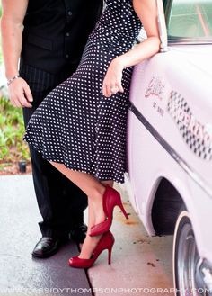 50's engagement .... Would be so ideal for me! <3