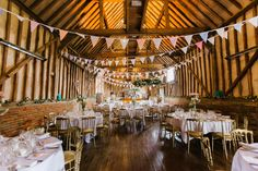 Caroline and James Barn Wedding With Funfair Games and an Outdoor Ceremony. By Alexandra Jane