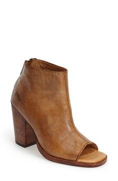 Bed Stu 'Onset' Peep Toe Bootie (Women) available at #Nordstrom