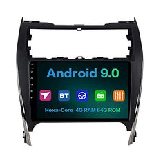 Dasaita Android Car Radio Wireless Built-in Carplay for Toyota Camry 2012 2013 2014 Bluetooth Car Stereo GPS Navigation Multimedia Music Video Player DSP Fast Boot Subwoofer WiFi Camry 2012, Free Mobile Phone, Bluetooth Car Stereo, Cool Car Accessories, Android 9, Toyota Camry, Gps Navigation, Multimedia, Wifi