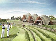 Rwandan Cricket Stadium by WAN Editorial in Kigali, Rwanda