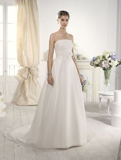 """Etna"" #WeddingDress by Novia D'Art, 2014 Collections. www.noviadart.com"