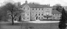 Tour Scotland Photographs: Old photograph of Cadder House by Bishopbriggs, Glasgow, Scotland. In antiquity, Cadder was the site of a Roman fort on the route of the Antonine Wall. Cadder House was a property held by the Stirling family for generations