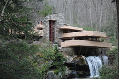 Fallingwater....if only more houses were built to look like this. Affordable ones, that is.