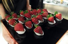 Godiva Strawberries from the #GodivaChallenge