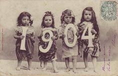 1904 Calendar girls