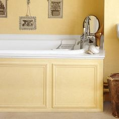 Photo: Tim Beddow/Interior Archive | thisoldhouse.com | from 20 Budget-Friendly Bath Ideas