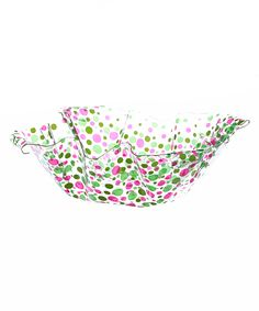 Look at this Dots Square Ruffletop Bowl on #zulily today!