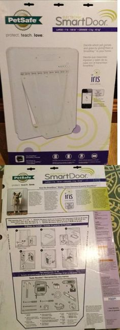 Doors and Flaps 116379: New Pet Safe Large Electronic Smart Door Ppa11-10709 7Lb - 100Lb Iris Dog Cat -> BUY IT NOW ONLY: $124.95 on eBay!