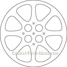 Movie Reel Template from AlamoSweets at Cake Central. (Intended use is for cake… Movie Reel Template from AlamoSweets at Cake Central. (Intended use is for cake design and cake decorating. Deco Cinema, Cinema Party, Hollywood Birthday Parties, Hollywood Theme, Hollywood Crafts, Hollywood Classroom, Movie Reels, Film Reels, Movie Themes