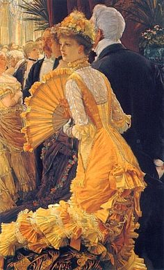 The Ball by James Tissot, 1880