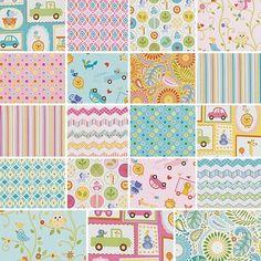 "Dena Designs HAPPI 5"" Charm Pack Fabric Quilting Squares Free Spirit by Dena Designs, http://www.amazon.com/dp/B00AWDFH3U/ref=cm_sw_r_pi_dp_Crxnrb17GDKRH"