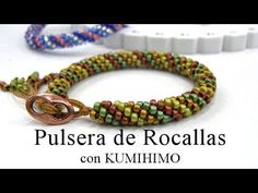 How to Make the Long Beaded Kumihimo Necklace Kit - YouTube