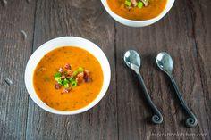 Tomato & Serrano Chili Pepper Soup