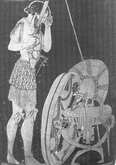Ancient Greek Armour, Shields and Helmets