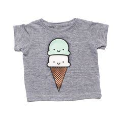 Kawaii Ice Cream T-Shirt from Whistle & Flute