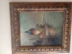 Moscow Russia - art gallery painting; so mystical, eluding