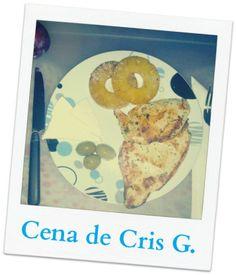 www.secomer.com Pechuga,piña,queso fresco,aceitunas #healthylifestyle #healthfood #comidasana #perderpeso #sepuede