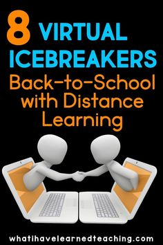 Are you starting the school year with distance learning? How do you effectively build community in an online environment? Here are 8 ideas to build community virtually. Use these ice-breakers to get to know your students at a distance during this back-to-school season. Even if you're in the classroom, these digital icebreakers will help you keep your distance and still have fun! Middle School Icebreakers, First Day Of School Activities, Teaching Technology, Student Learning, Learning Resources, Teaching Tools, Teaching Science, Get To Know You Activities, Beginning Of School