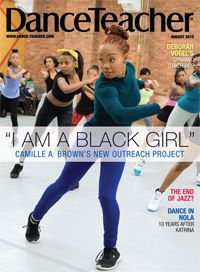 Our August issue featuring cover-star Camille A. Brown is here! Don't miss it!