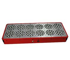 Apollo12 540w LED Grow Light 10bands Full Spectrum 380730nm Power Lens Design Better Penetration Flower Plants Powerful Panel3w ** Check out this great product.(This is an Amazon affiliate link and I receive a commission for the sales)