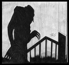 I've just made a small tribute to a classic horror character. Nosferatu rules!