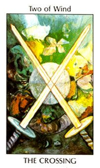 September 30 Tarot Card: Two of Swords (Tarot of the Spirit deck) This is a time of truth. You must be honest with yourself about your real thoughts and feelings now ~ it's the only way to move forward