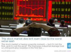 #stockmarket #stockmarketcrash This stock market dive isn't even close to the worst we've seen