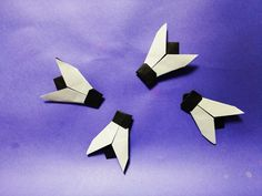 똥파리 종이접기 How to Make Paper Origami fly