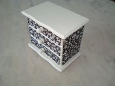 Mini gaveteiro - www.elo7.com.br/esterartes