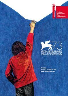 Venice Film Festival Unveils This Year's Poster It focuses on the moment of expectation in cinema. Captain Marvel, Captain America, Film Festival Poster, Venice Film Festival, Skull Island, Kim Rossi Stuart, Open Film, Daniel Brühl, Grand Prix