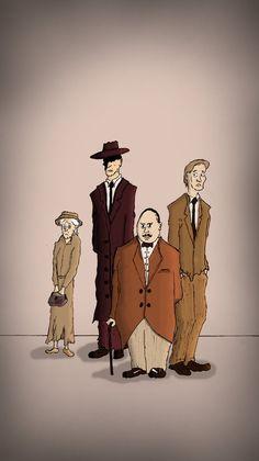 Agatha Christie Team-Up by ~Ernst-Jan on deviantART