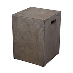 This Cubo Square Handled Concrete Stool SEATING from Dimond Home comes in Concrete finish. Part UPC: 818008017957 Weight: 3 lbs. Height: inches Width: inches Length: inches Finish: Concrete Material: Concrete Item Type: STOOL Vendor: Dimond Home Concrete Stool, Concrete Furniture, Modern Furniture, Concrete Formwork, Concrete Color, Diy Furniture, Concrete Materials, Contemporary Dining Table, Luxury Home Decor