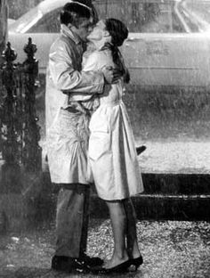 Breakfast At Tiffany's. Audrey Hepburn and George Peppard