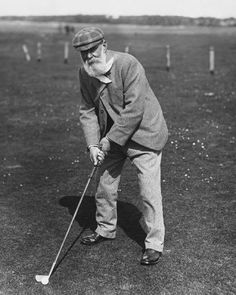 old time golf pics   vintage golfer