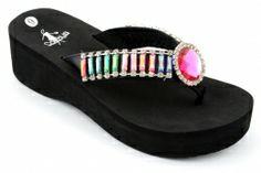 012c07490943ef Eliza II Jeweled Flip Flop - Corky s