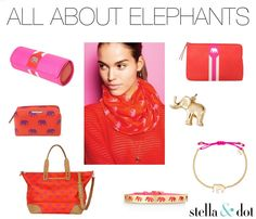 Stella & Dot Elephants make the BEST gifts!!  So popular right now!