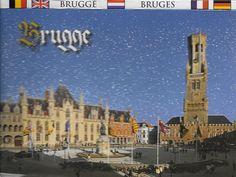PK1254. Brugge. Marktplatz.