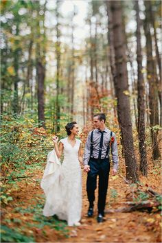 Outdoor wedding captured by Meg Haley Photographs.