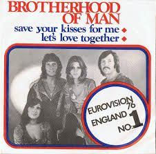 """Brotherhood of Man - """"Save Your Kisses For Me"""", the winning song of the Eurovision Song Contest 1976 from the United Kingdom"""