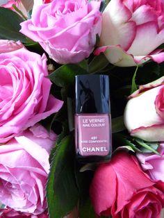 Vernis à ongle Chanel - 491 rose confidentiel - nail polish Chanel - bouquet de roses - spring - printemps - éditions limités.