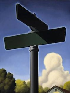 Getting Directions, 2007, 40 x 30 inches, oil on canvas Kenton Nelson 2008