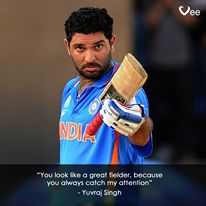 #YuvrajSingh #Yuvi #Yuvraj #Cricket #CWC15 #Sports #CricketersPickUpLines #India