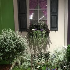 Philadelphia 2016 Horticultural Show - the Edgar Allen Poe Front Porch