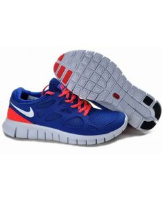 4a3fa8b9056 2013 Nike Free Run Dark Royalblue Reddish Orange Mens Shoes All kinds of  Cheap Nike Shoes are provided in Nike store with superior quality and super  ...